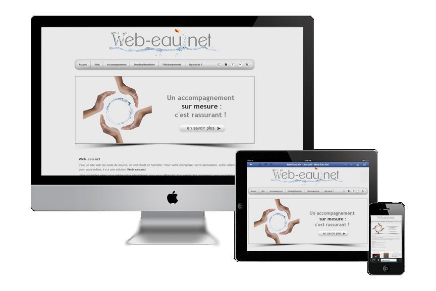 web-eau.net, créateur honnête de site internet