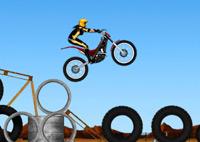 jeu moto trial