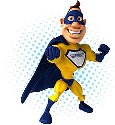 Aperçu de la mascotte de l'annuaire web SuperTruc