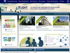 La société de nettoyage Light-SA