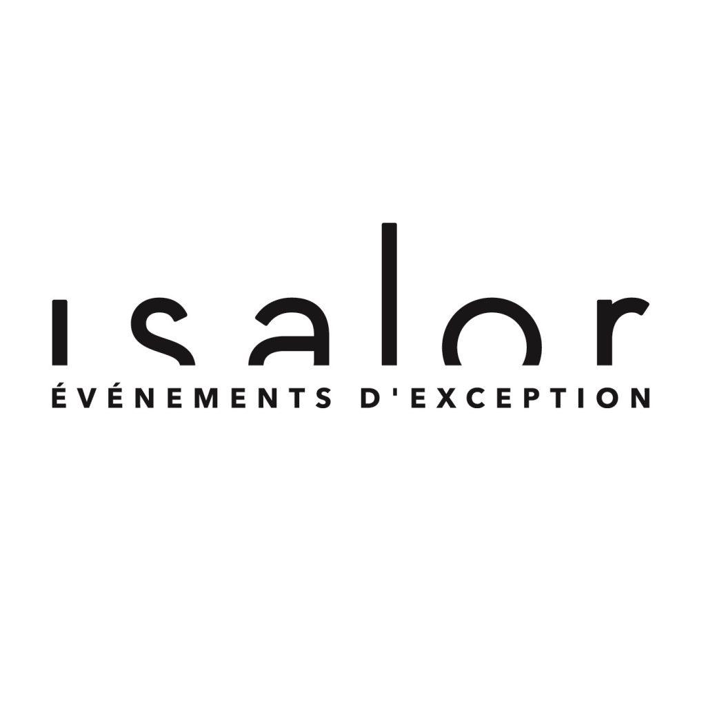 Le logo du traiteur Isalor à Mulhouse en Alsace.